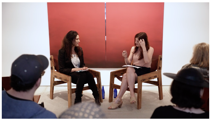 Gallery conversation with Rachel Corbett at Totah